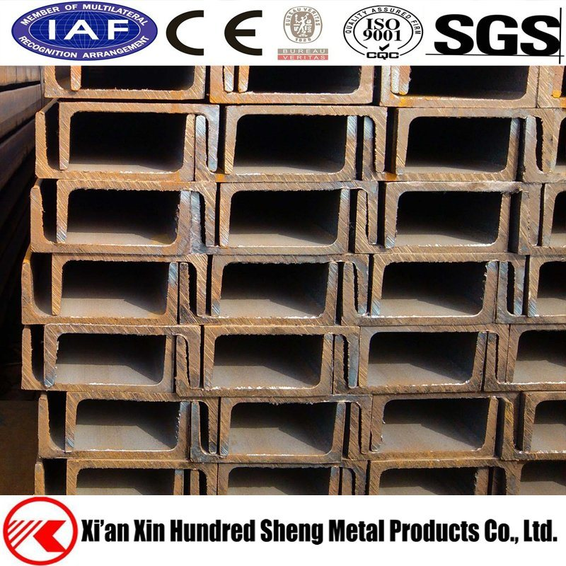 China GB ASTM JIS Galvanized Structural Steel Channel Beams