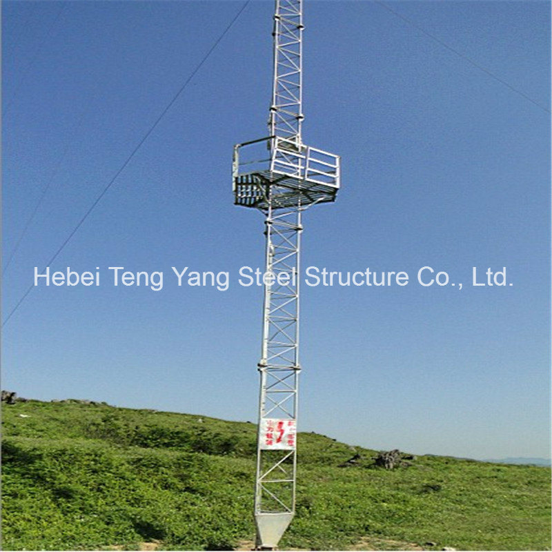 Antenna Steel Communication Tower Triangular Radio Telecom Guyed Tower pictures & photos
