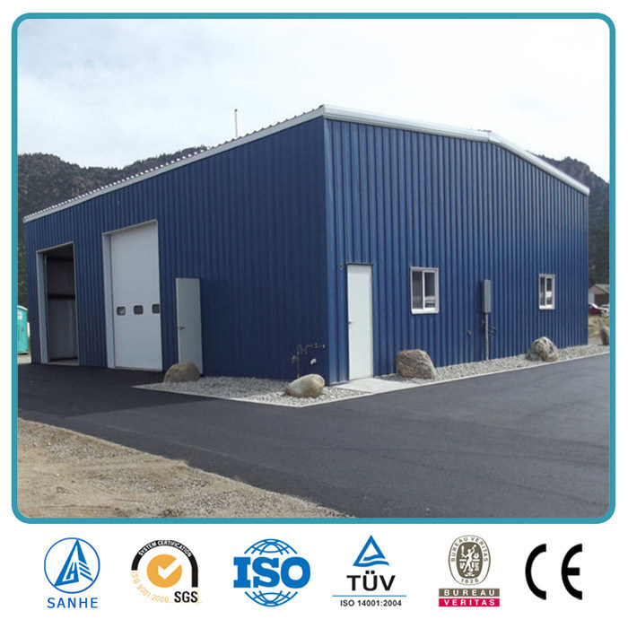 China SGS Approved Prefabricated Steel Industrial Storage Shed (SH 652A)    China Storage Shed, Steel Shed