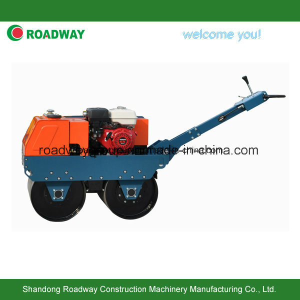 Walk Behind Double Drums Vibratory Road Roller