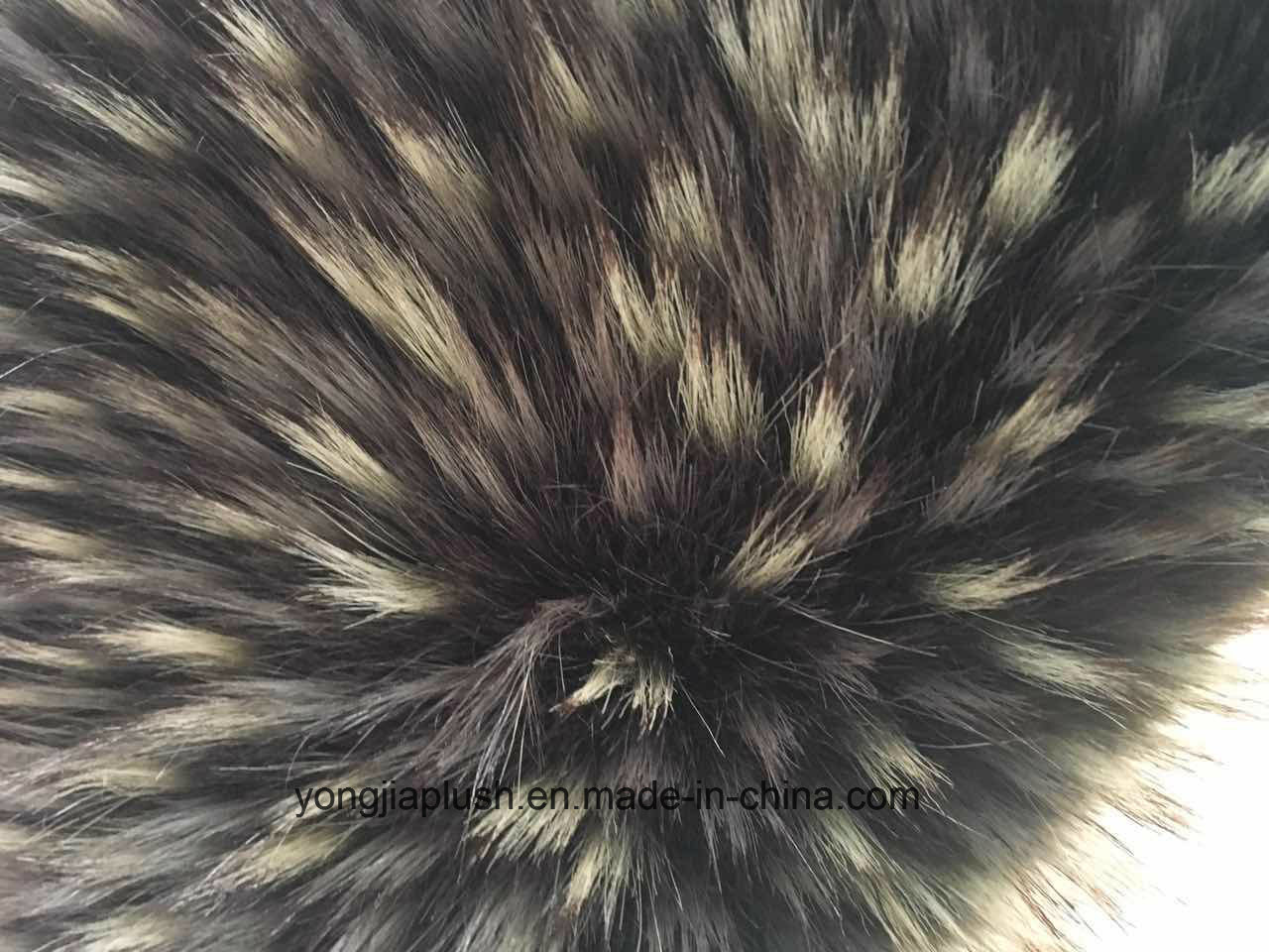 Multicolor Short Raccoon Faux Fur pictures & photos