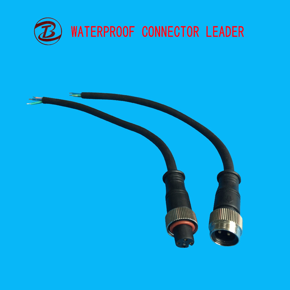 China Low Voltage Wire Electrical 5 Pin Waterproof Connector - China ...