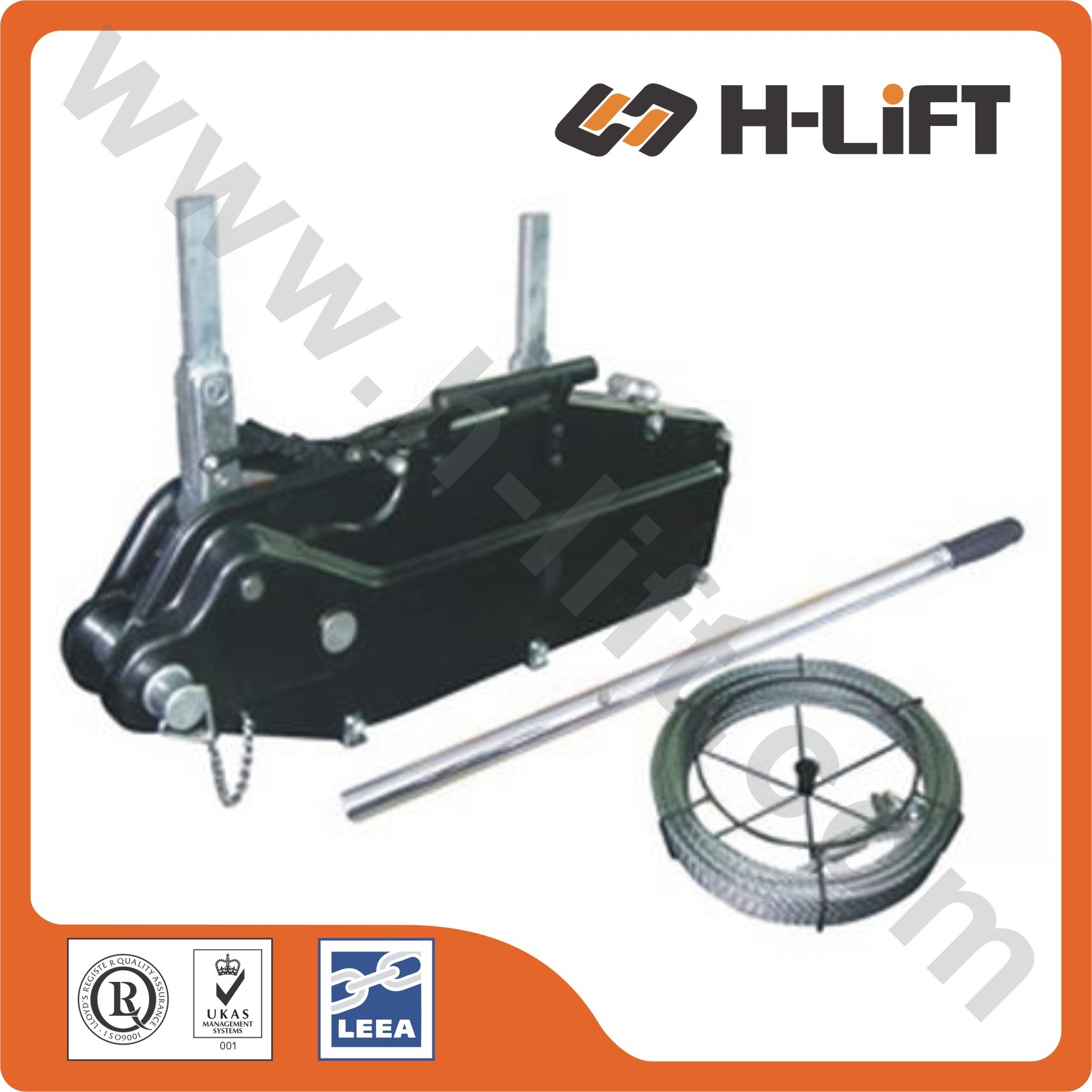 China Tirfors / Wire Rope Pulling Hoist, Steel Body - China Tirfors ...