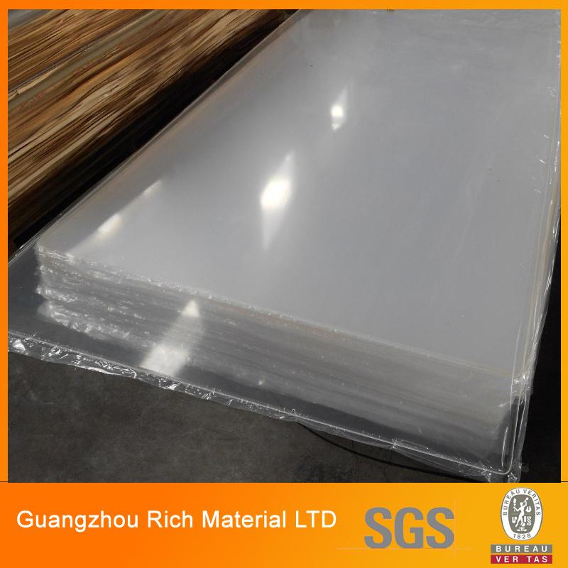China Clear Plastic Acrylic Board Transparent Pmma Perspex Board