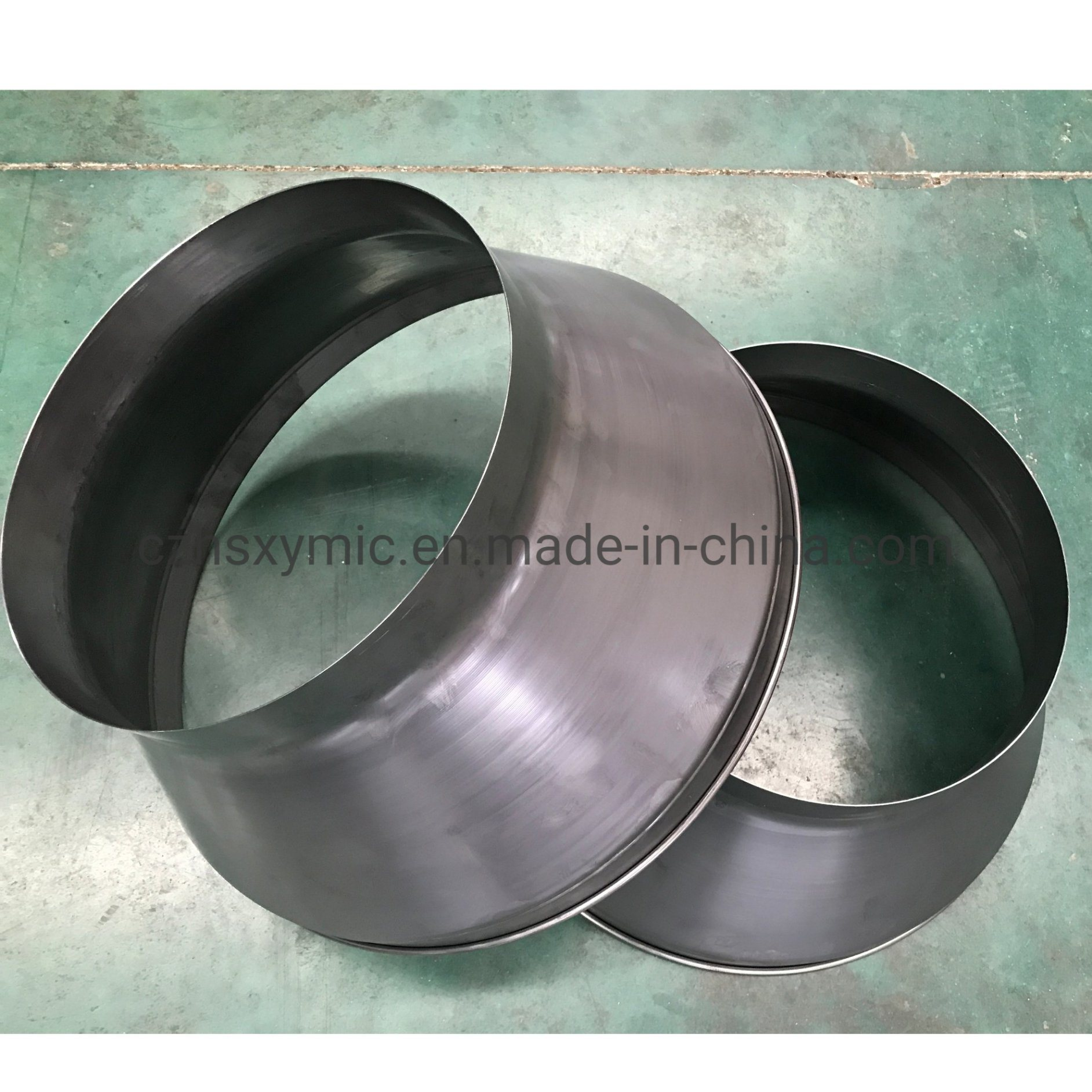 China Cheap Fresh Air Ventilation Inline Exhaust Fan Cover By Metal Spinning China Metal Stamping Metal Punching