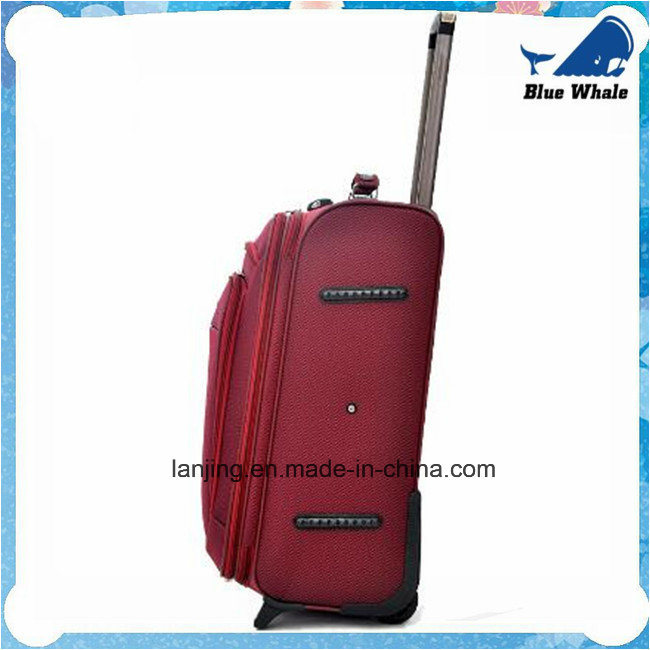 Big Capacity Waterproof Nylon Bag Trolley Wheeled Travelling Luggage pictures & photos