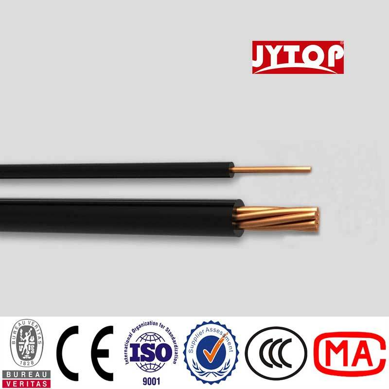 China H07V-U Type PVC Insulated PVC Sheathed Electrical Cable ...