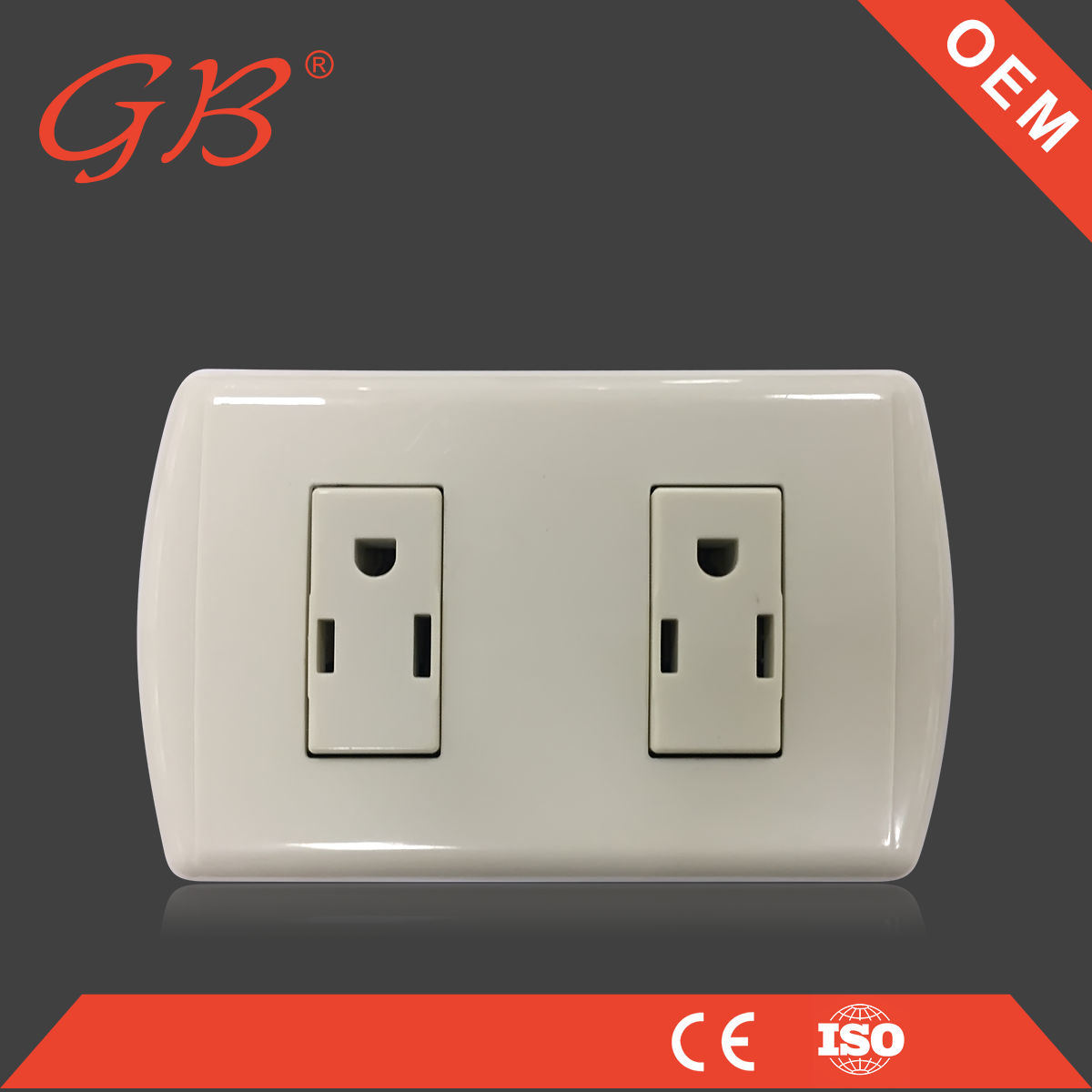 China Electric American Standard Electrical Wall Socket Outlet ...