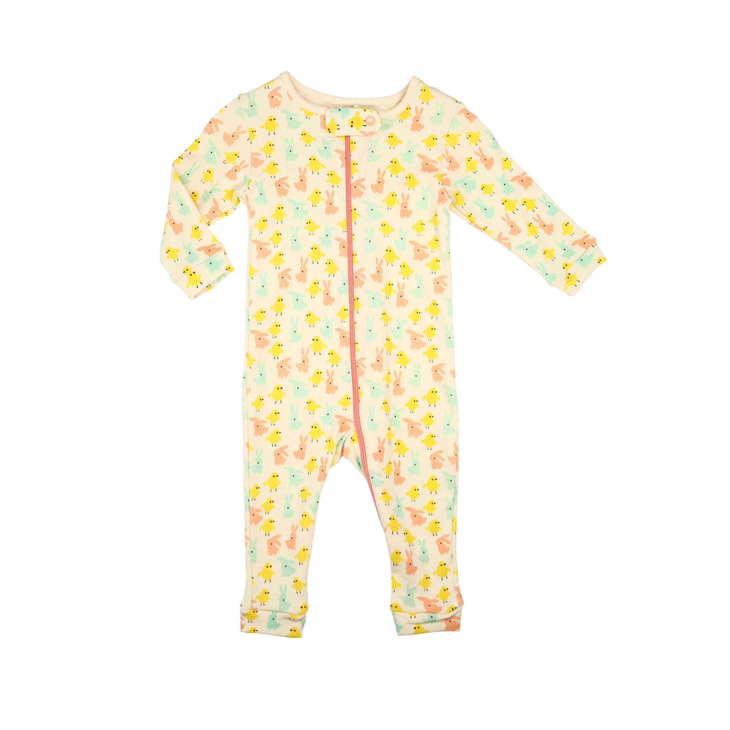 Cute Bunny Baby Romper Organic Cotton Baby Wear