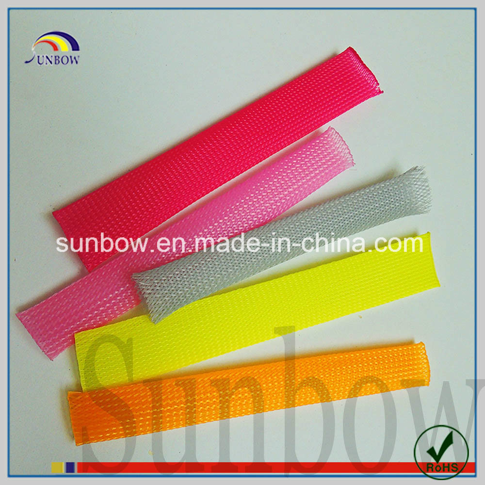 China Pet Cable Sleeving For Wire Harness Protection Sleeve