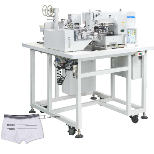 China Automatic Elastic Tape Splicing Sewing Machine China Elastic Beauteous Automated Sewing Machine Co Ltd