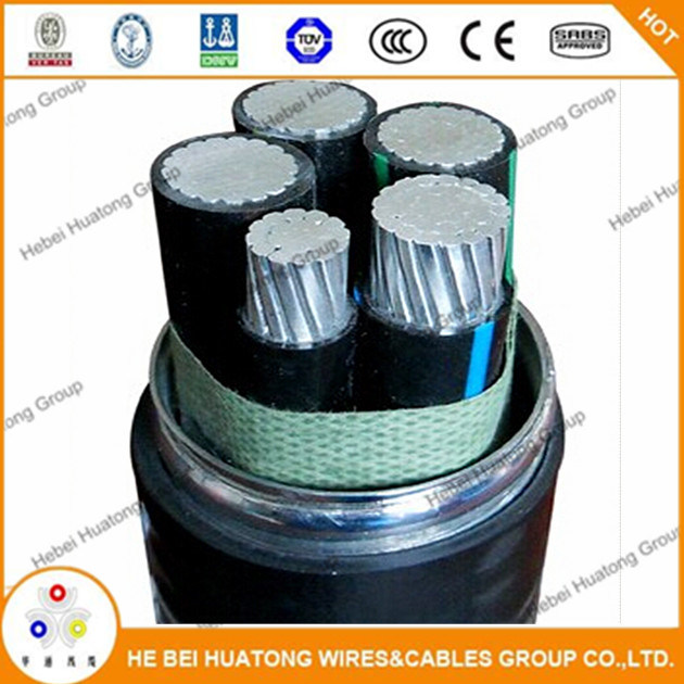 China Type Mc Cable with 3 or 4 Core 8000 Series Compact Stranded ...