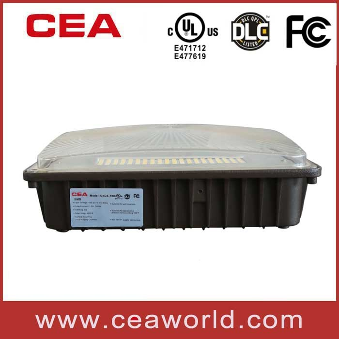 UL cUL Dlc 4.0 FCC Approved LED Canopy Light 30W 50W 70W 100W