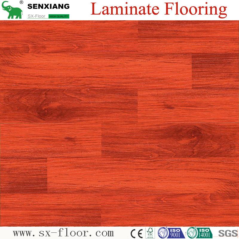 China Laminate Flooring Laminated, Smooth Laminate Flooring