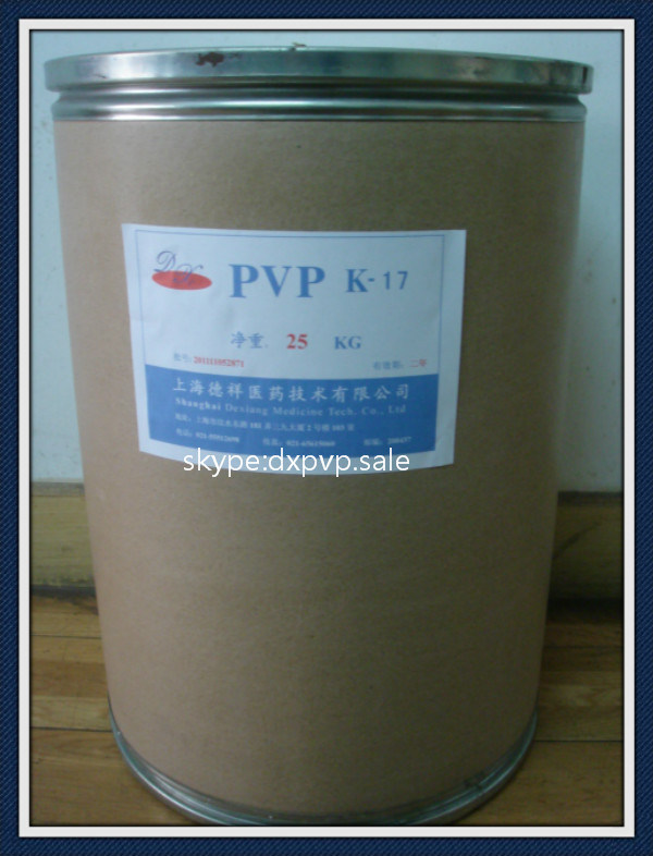 Pvp K17 for Skin Care and Cosmetic Products