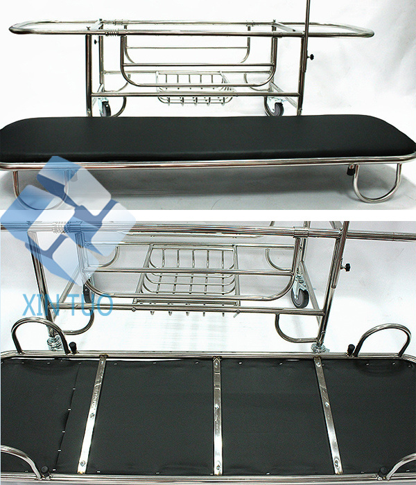Low Price Hospoital Furniture Medical Equipment Examination Trolley