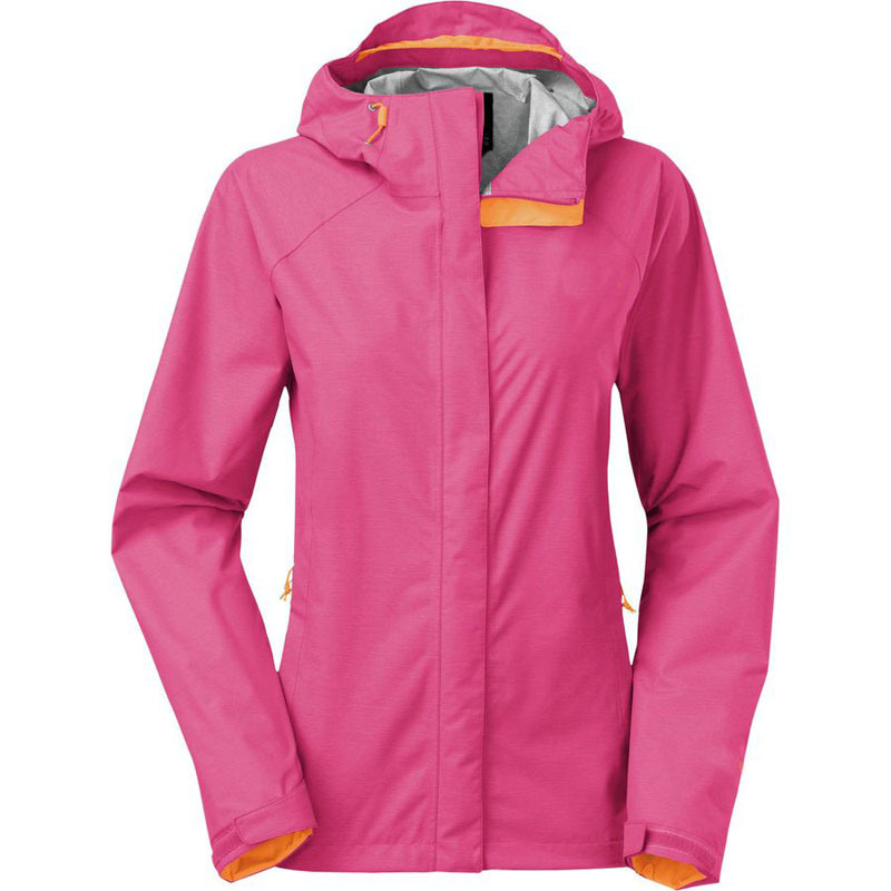 Women Waterproof Outdoor Venture Hoody Nylon Jacket
