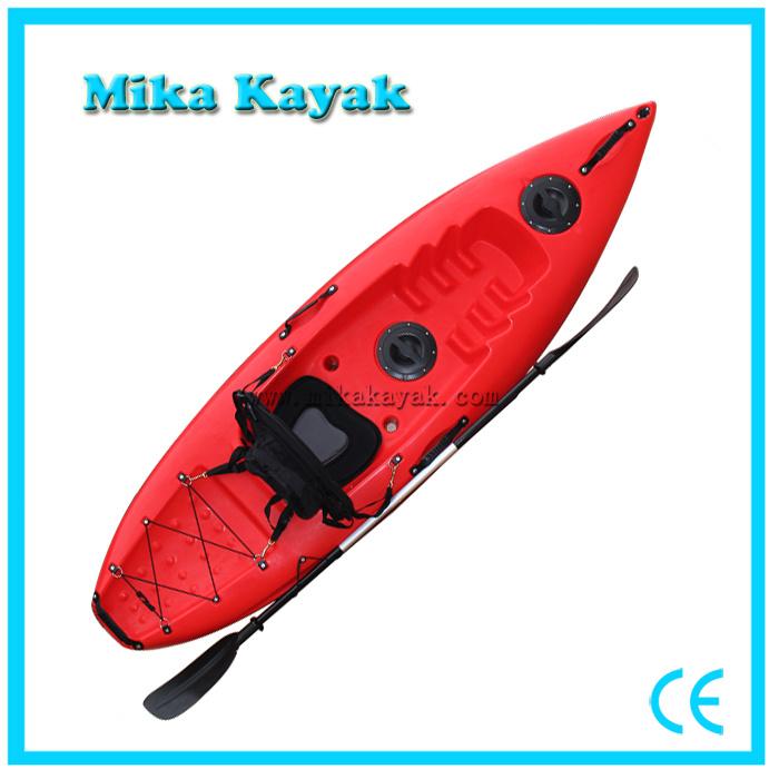 [Hot Item] Single Seat Kayak Fishing Cheap Fiberglass Canoe Paddle Boats