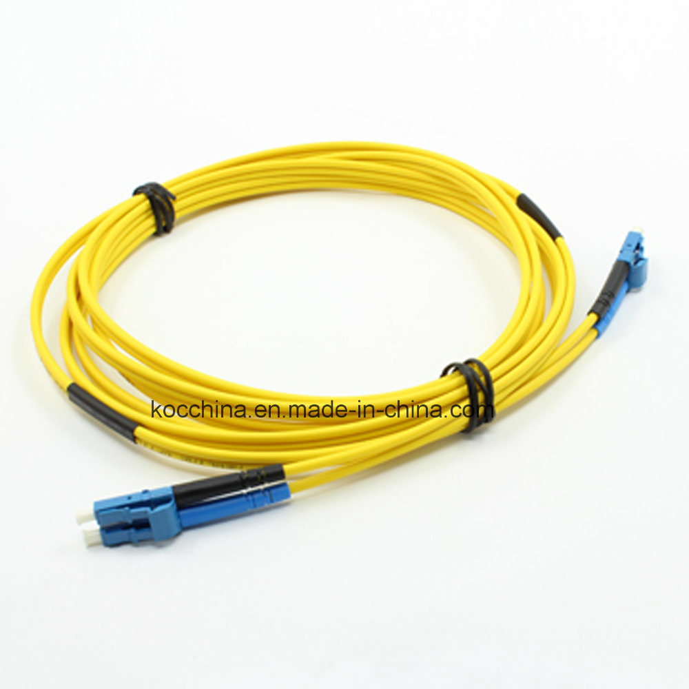 China Sc/LC Sm Duplex Optical Fiber Patch Cords Fiber Optic Cable ...