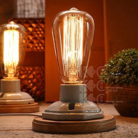 Hot Item Clear Gl Light Bulbs With Antique Vintage Thomas Edison Style Filament For Pendant Lighting Lamps String Lights
