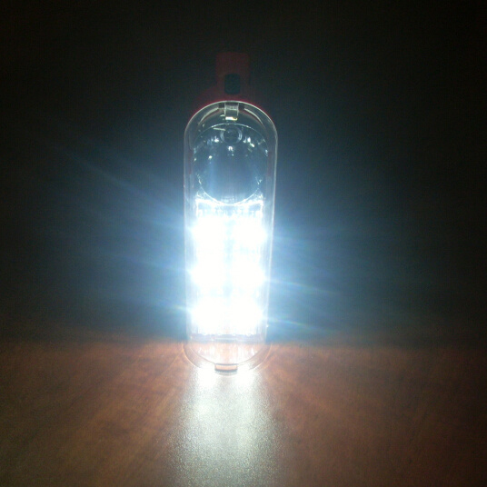 Portable Solar LED Rechargeable Camping Lantern Torch