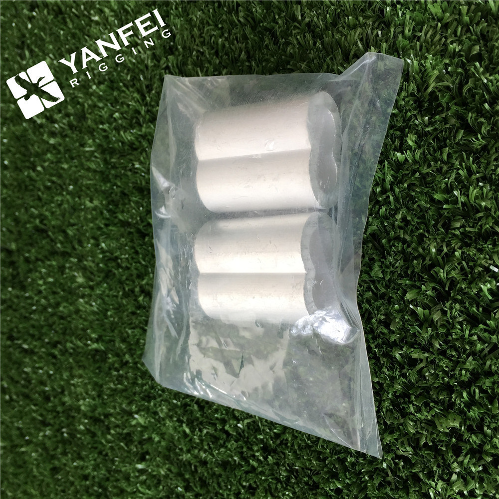 China Flemish Eye Steel Swaging Sleeves for Wire Rope Photos ...