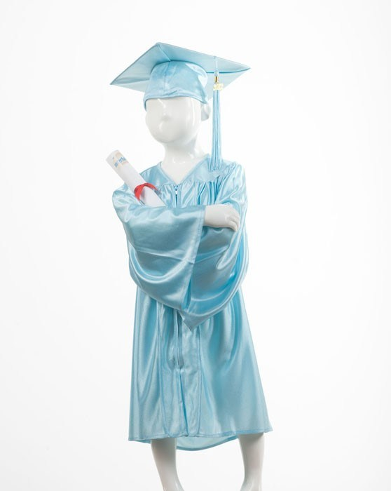 262d85767a8 China Beautiful Color Kindergarten Graduation Gowns Shiny Maroon for ...
