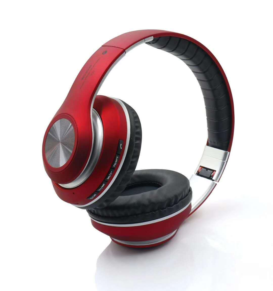 China Bluetooth Headset With Fm And Support Micro Sd V33 China Bluetooth Headphone And Fm Headphone Price