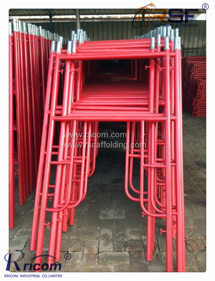 839c74250e370d China H Frame Scaffolding for Building Steel Materials - China H ...