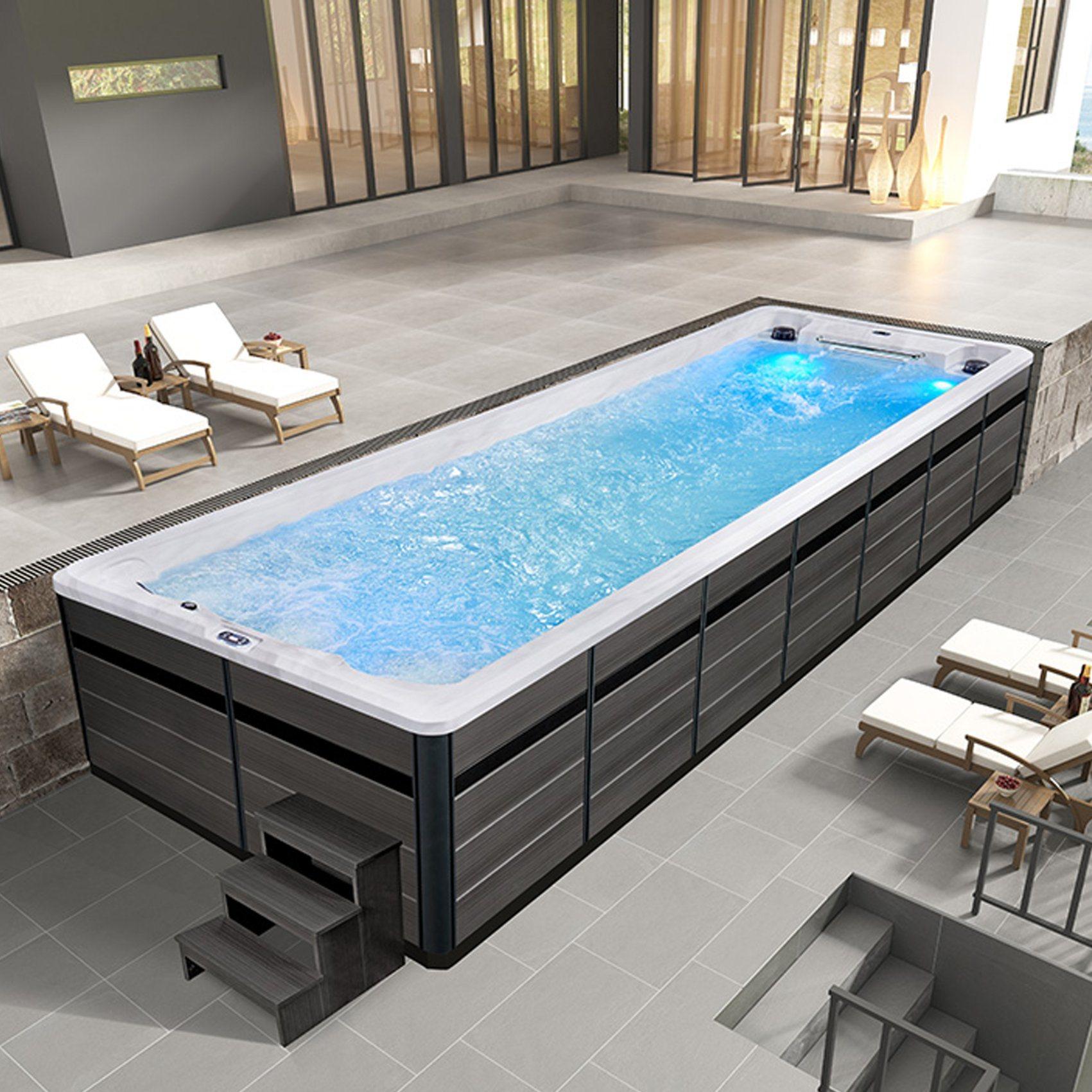 China Modern Family Use Above Ground Fibreglass Swimming Pool China Pool And Swimming Pool Price