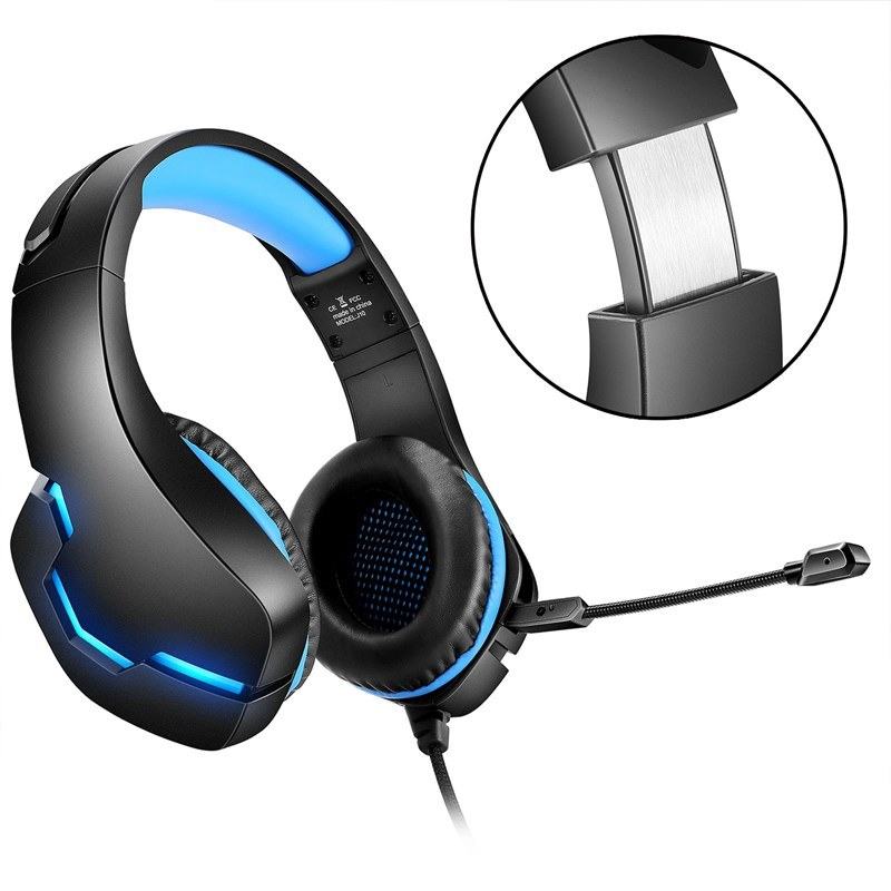 China Beexcellent Stereo Bass Gaming Wired Headphone With Microphone Led Light For Pc Mobile Phone Ps4 China Competitive Gaming Headset And Camouflage Wired Gaming Headset Price