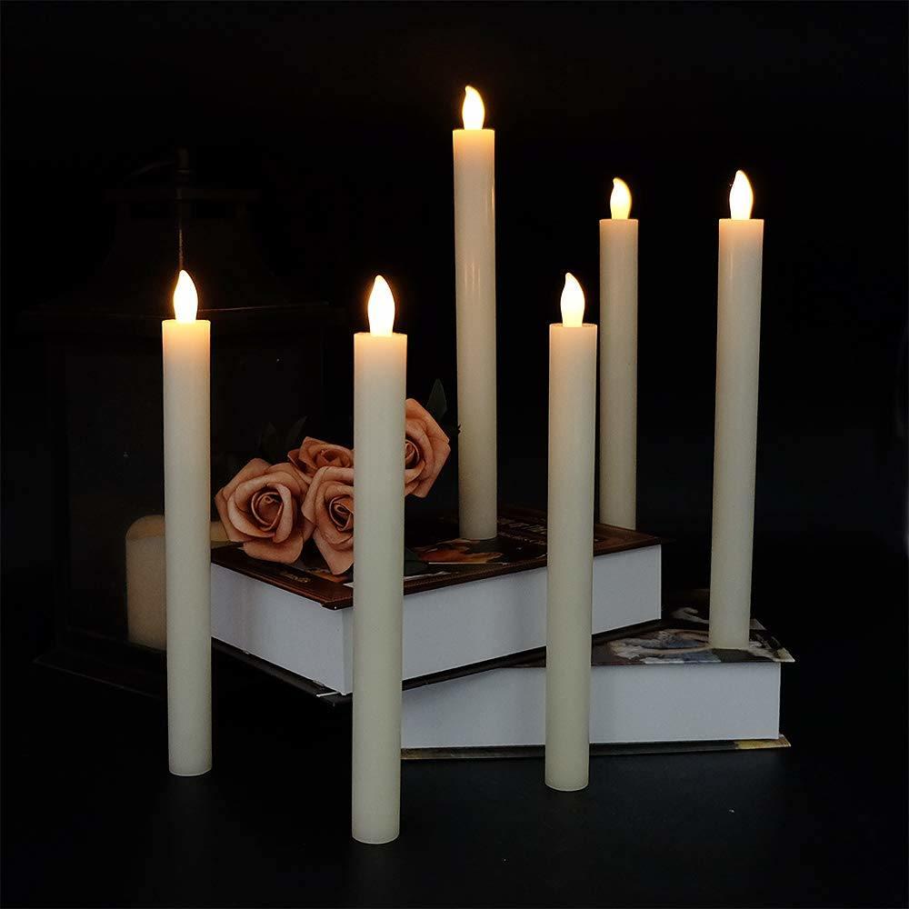 China Flameless LED Taper Candles Lights for Wedding, Birthday, Christmas Decoration - China LED Decoration, Decoration Light
