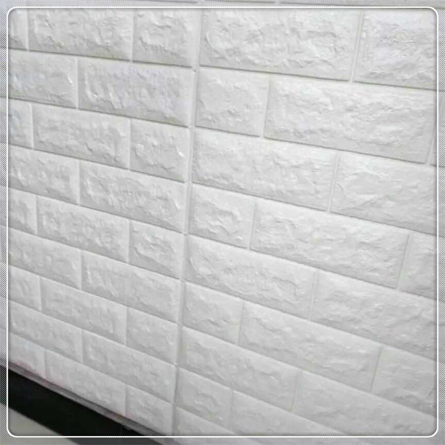 [Hot Item] Home Factory and Free Samples PE Brick Foam 3D Wallpaper