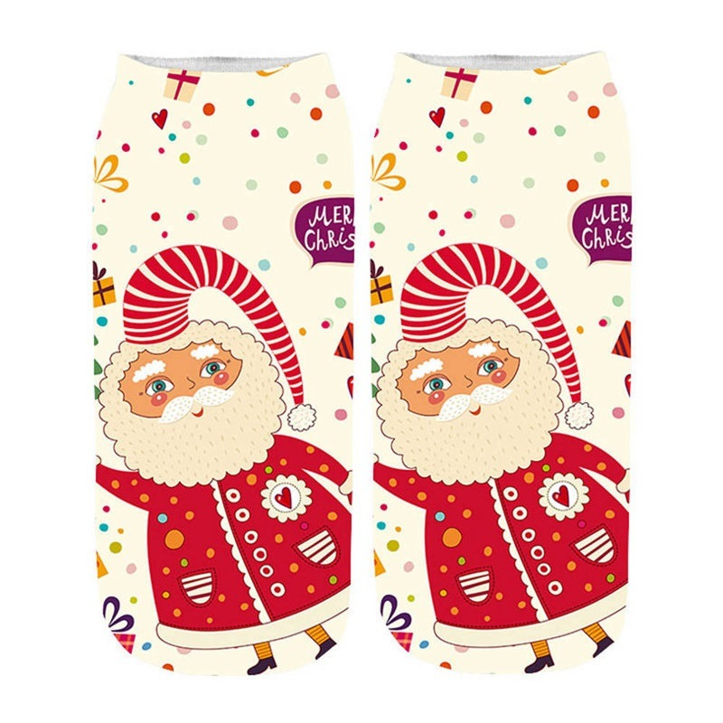 nouveau concept 40fdb 9e72c [Hot Item] Christmas Socks Happy Socks New Food Print 3D Socks Women Kawaii  Calcetines Femme Girls Cute Emoji Funny Socks