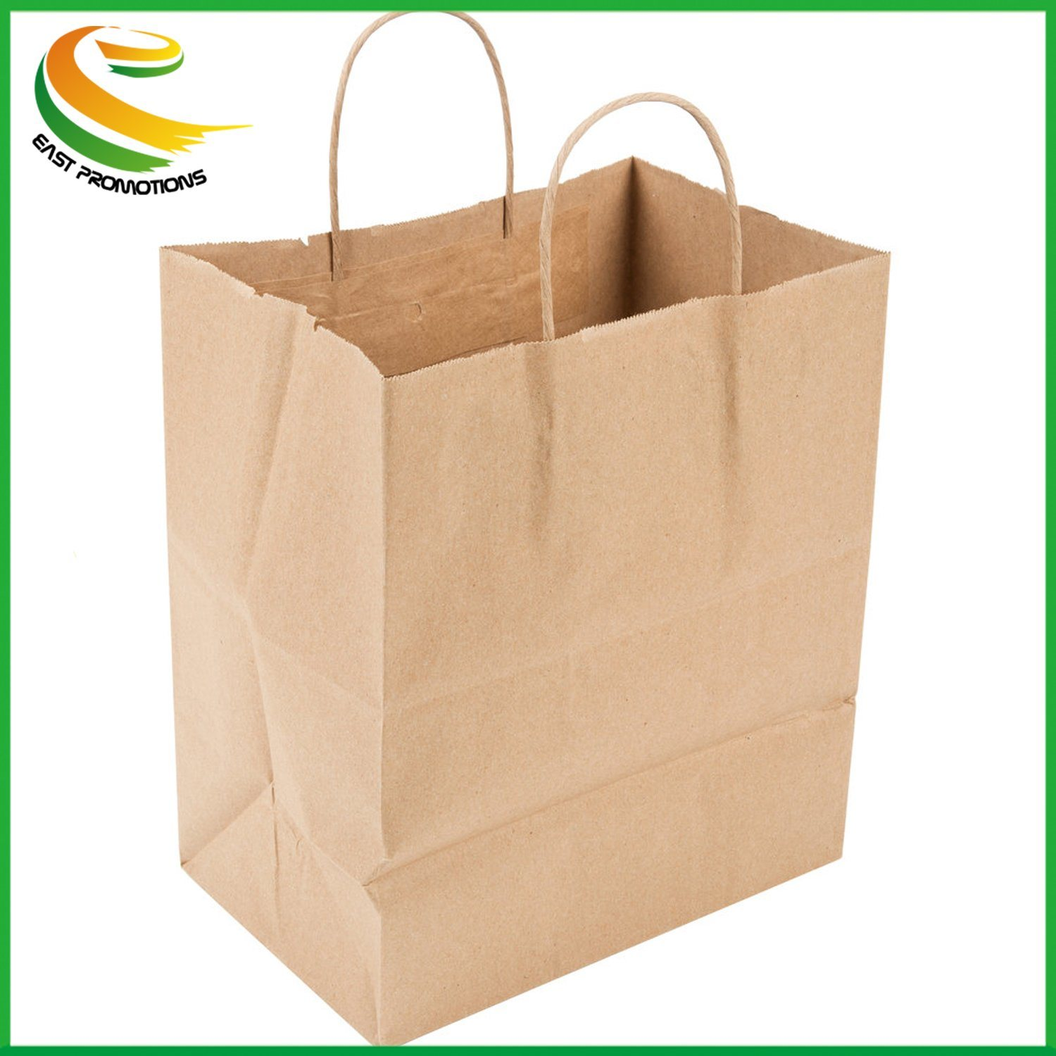 Hot Item Paper Lunch Bags Grocery Durable Kraft Perfect
