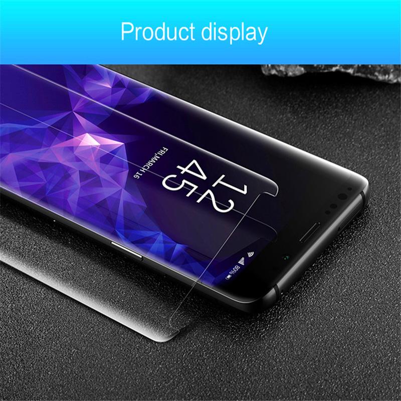 China UV Nano Optics Liquid 3D Curved Tempered Glass Screen
