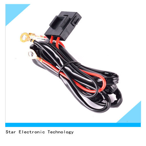 customized high temperature voltage wire harness car lighting wiring harness