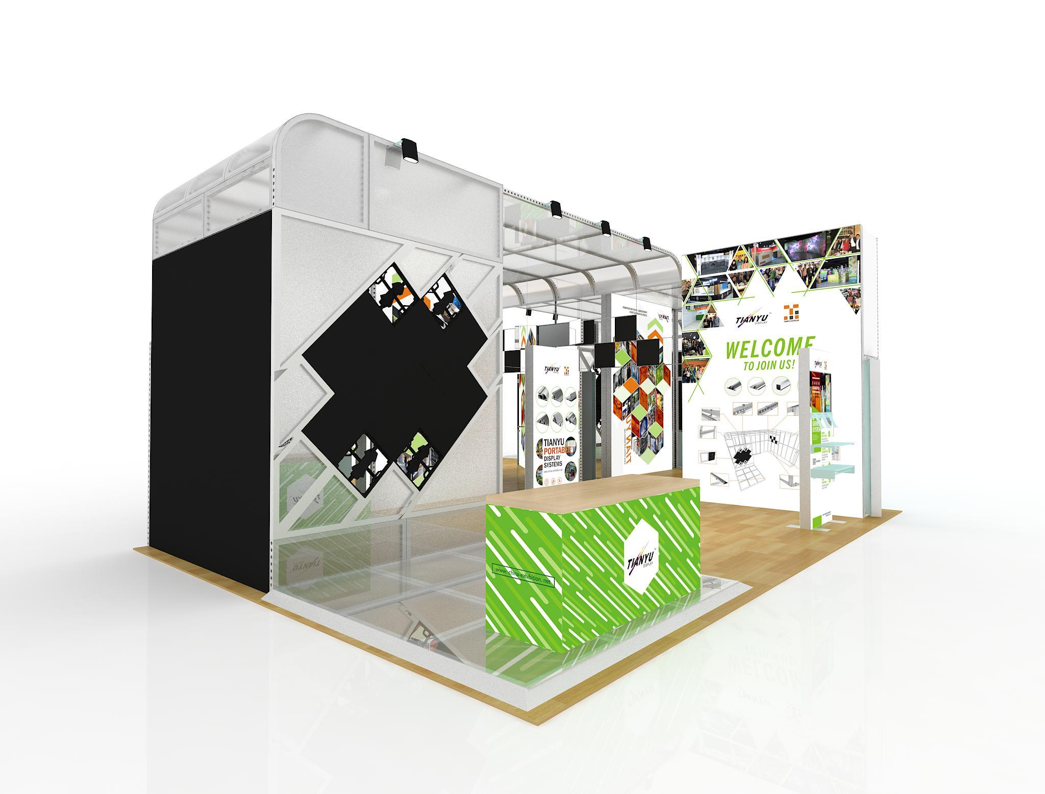 Expo Exhibition Stands Election : Mosa tiles exhibition stand inspiring trade show displays