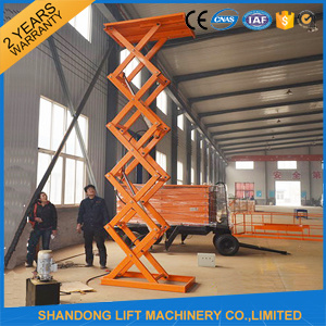 Electro Hydraulic Scissor Lift Table pictures & photos