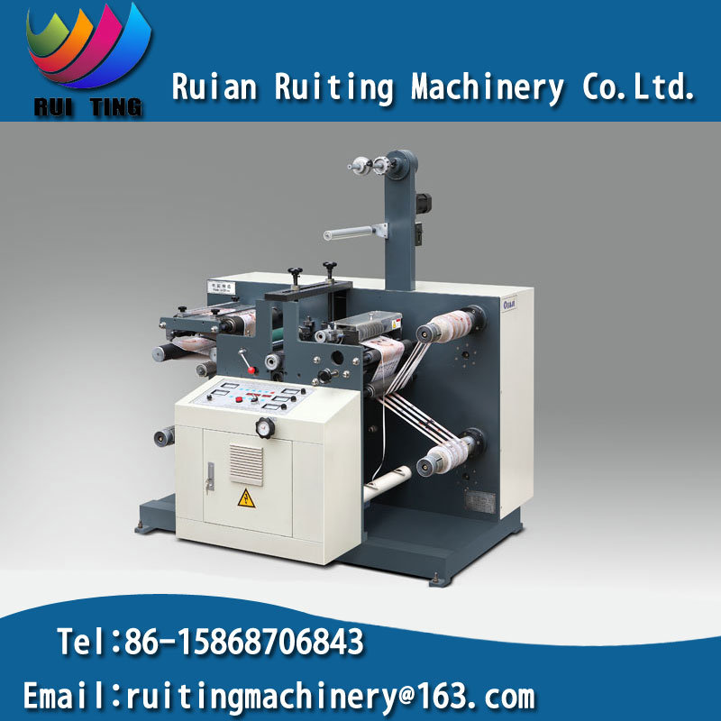 Rtq-520 Sticker Label Rotary Die Cutting Machine with Slitting Set