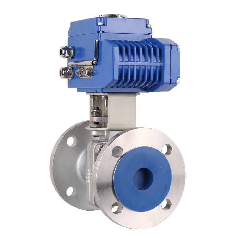 [Hot Item] Micro Motor Intelligent Electric Ball Valve Actuator for Water  Treatment System