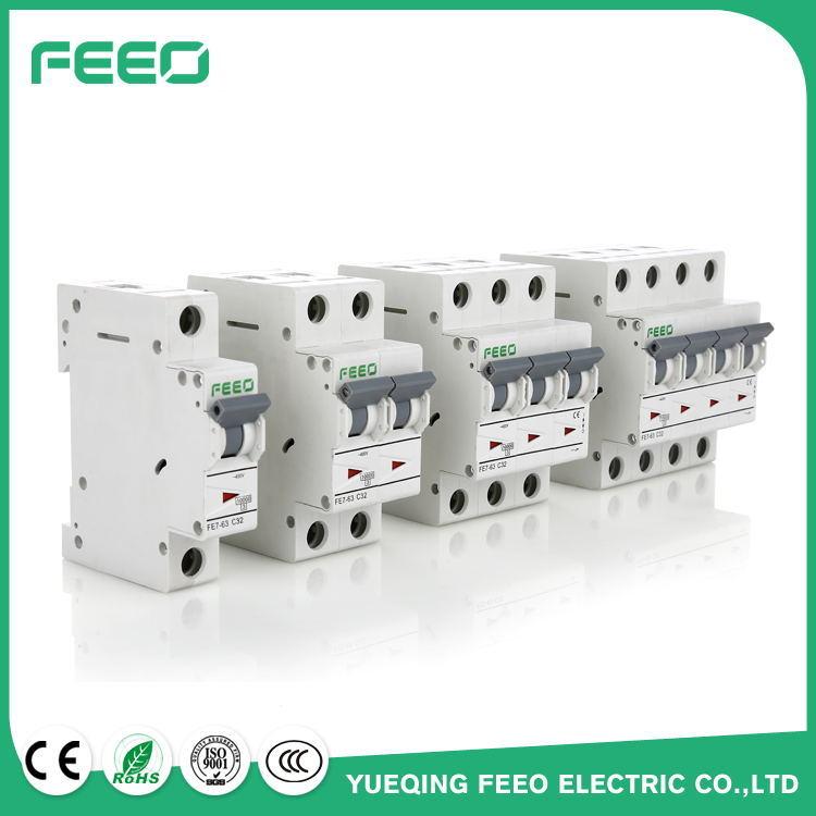 China 3p Fe7 63 Ac Mcb Electrical Symbol Circuit Breaker Photos