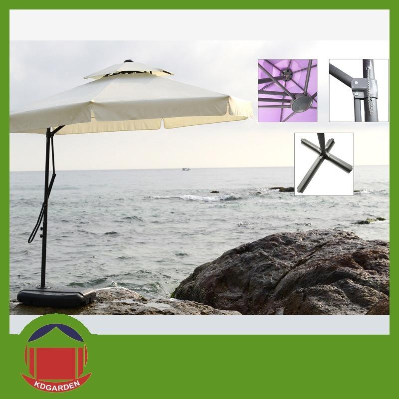 Dia 300cm Wooden Beach Umbrella