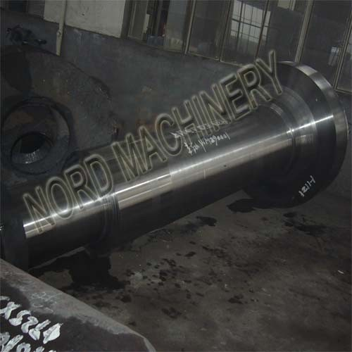 Heavy Forged Steel Cylinder Flange Shaft