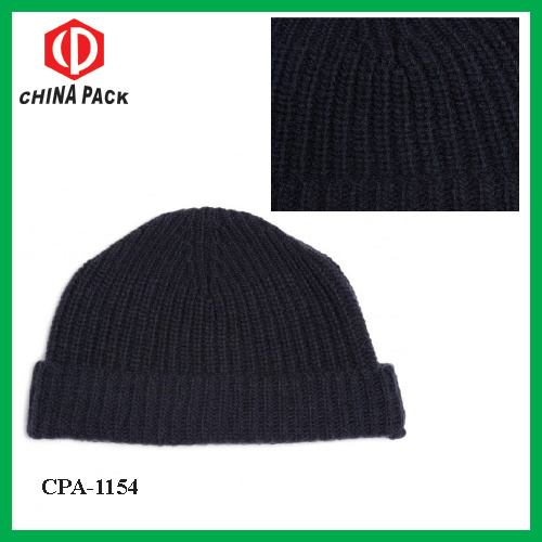 b59f67c44d2 China Men′s Winter Wool Blend Ribbed Beanie Hats - China Beanie Hat ...