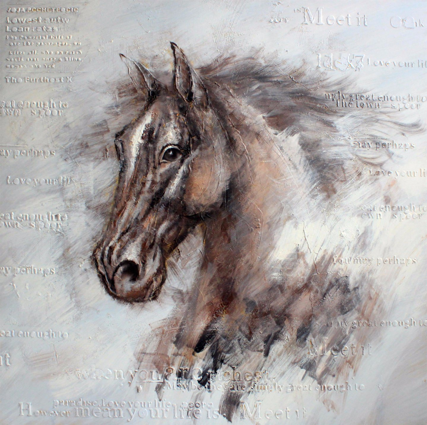 China Oil Painting Of A Horse Head China Oil Painting And Modern Oil Painting Price