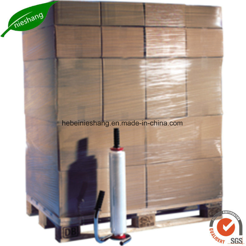 Hand Machine PE Pallet Stretch Film pictures & photos