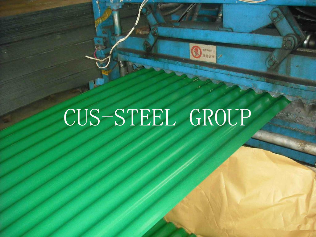 China Shandong Province Colour Roof Profile Sheets/Corrugated Color ...