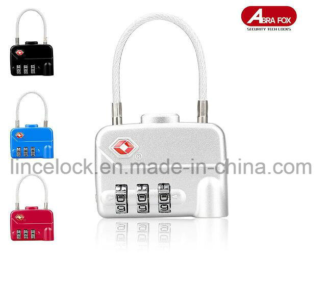 ABS Tsa Luggage Lock (519) pictures & photos