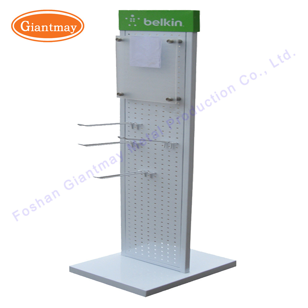 China Portable Double Sided Supermarket Store Metal Mobile ...